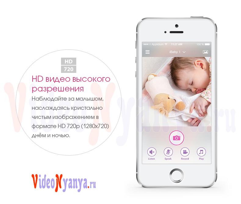 Видеоняни iBaby Видеоняня Monitor M6